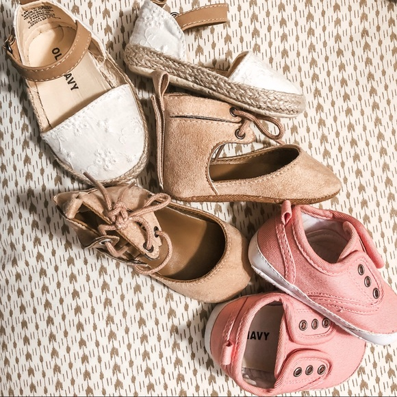 Old Navy Other - Baby Girl Size 3-6 Months Shoe Bundle